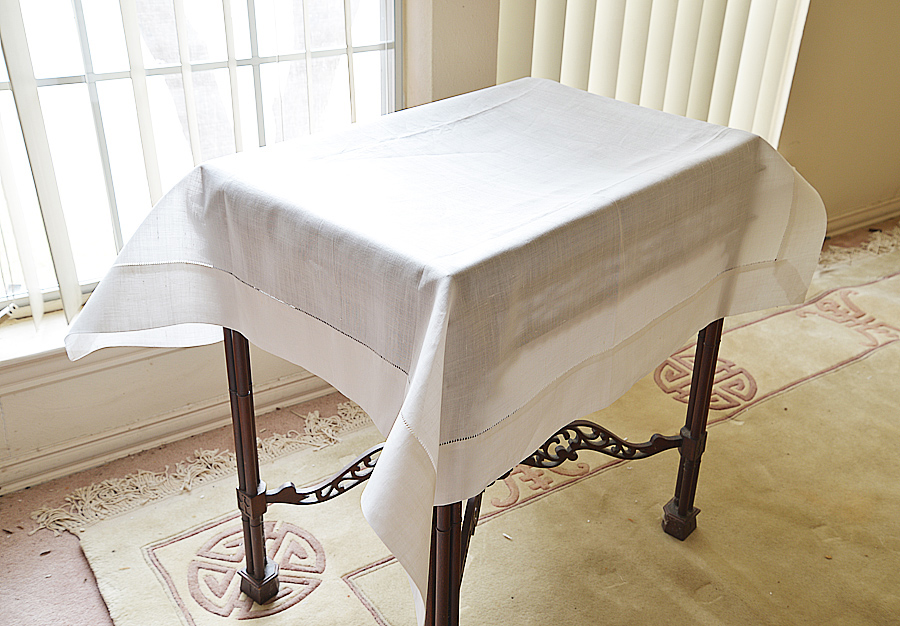 Linen Square Tablecloth